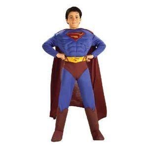 💙 DC Comics Muscle Chest Superman Child's Costume